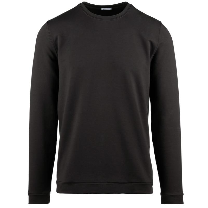 StringKing Apparel Crew Sweatshirt Light Black Gallery Image Front View