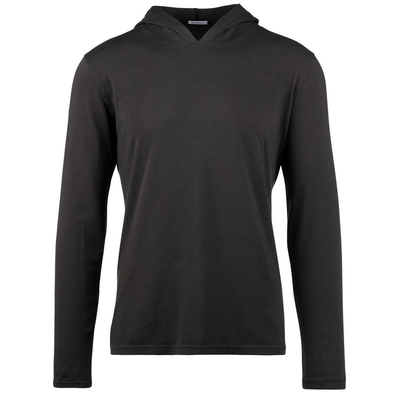 StringKing Apparel Hoodie Casual Light Black Front Gallery Image