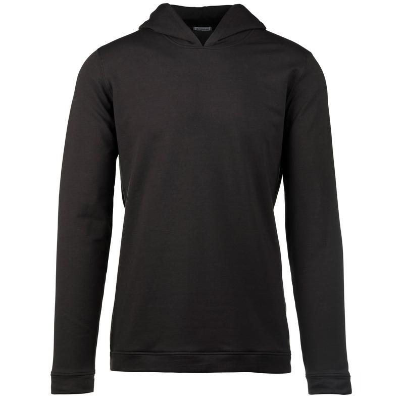 StringKing Apparel Hoodie Sweatshirt Light Black Front Gallery Image