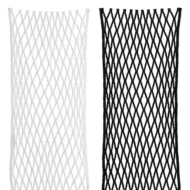 StringKing Grizzly 2s Goalie Lacrosse Mesh Kit Black White