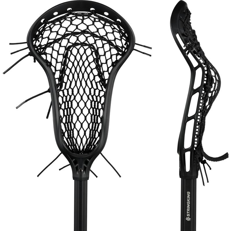 StringKing Women's Complete 2 Pro Midfield Front Pocket View Black Black