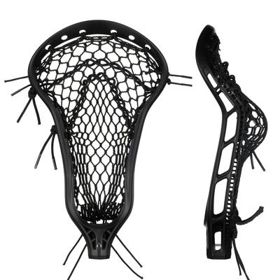 StringKing Women's Mark 2 Offense Lacrosse Head Face Pocket Black