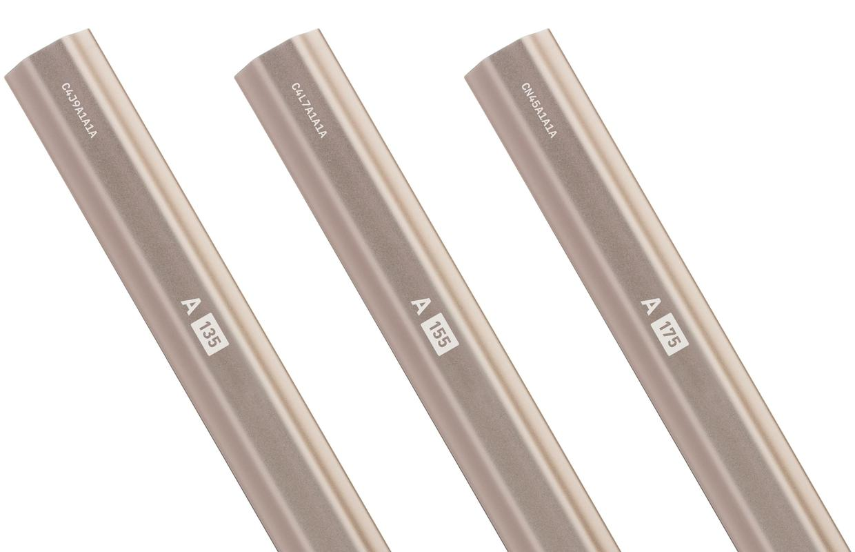 StringKing A Series Men's Attack Lacrosse Shaft Weight Options Nickel