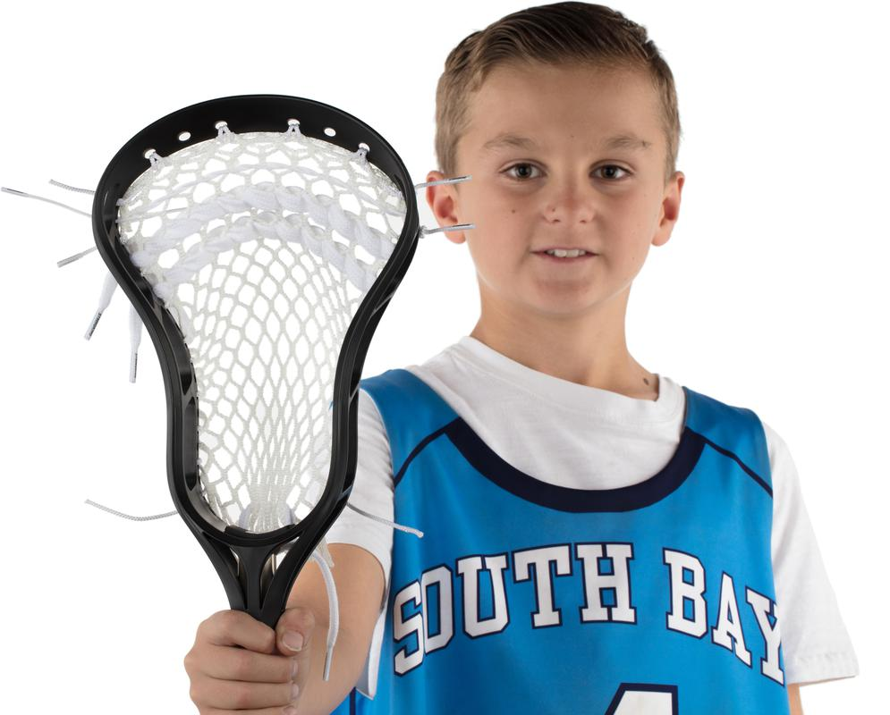 StringKing Complete Jr. Youth Lacrosse Stick Wide Lacrosse Head