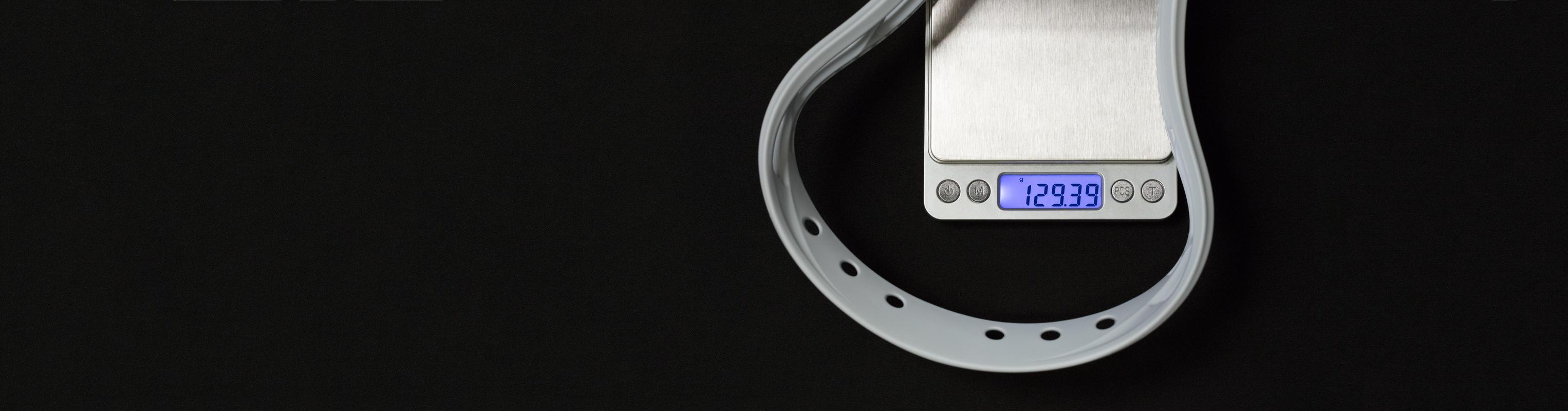 StringKing Mark 2A Men's Attack Lacrosse Head Lighter on Scale
