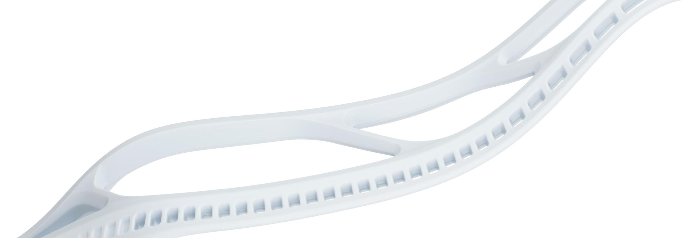 StringKing Mark 2F Lacrosse Head Feature White Unstrung Better Materials