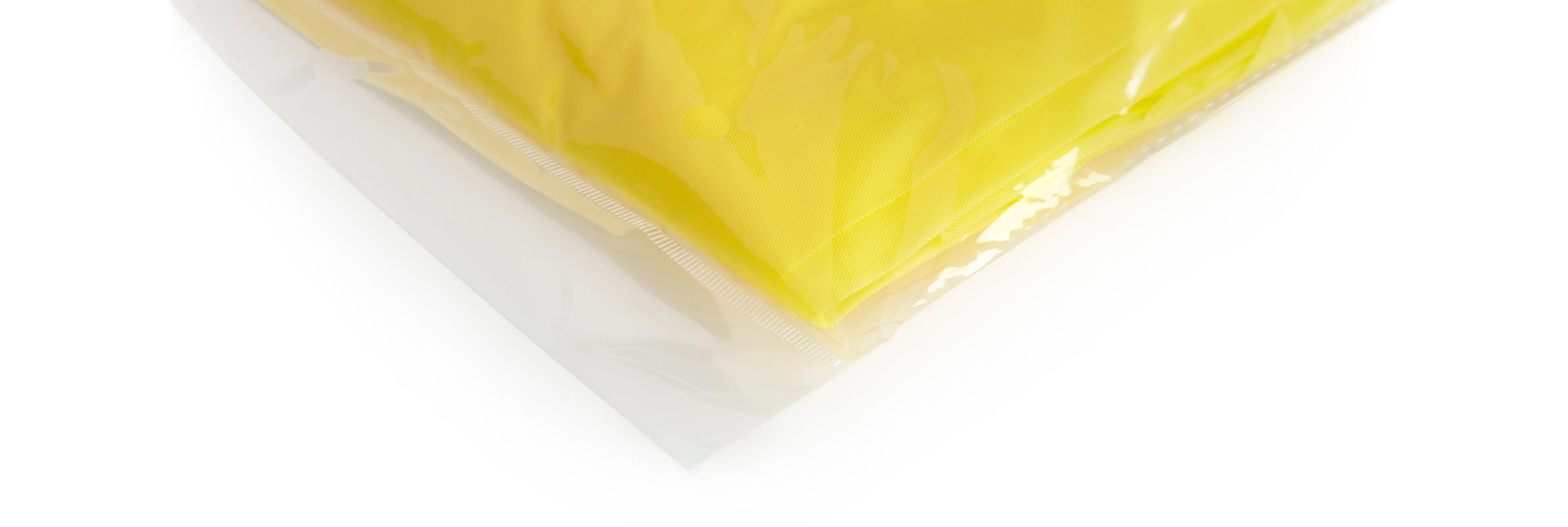 Yellow Disposable Plastic PPE Isolation Gown Bulk Ordering