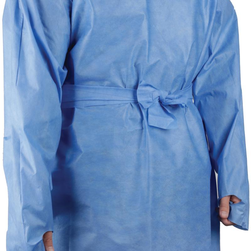 Disposable SMS Isolation Gown PPE Donning and Doffing
