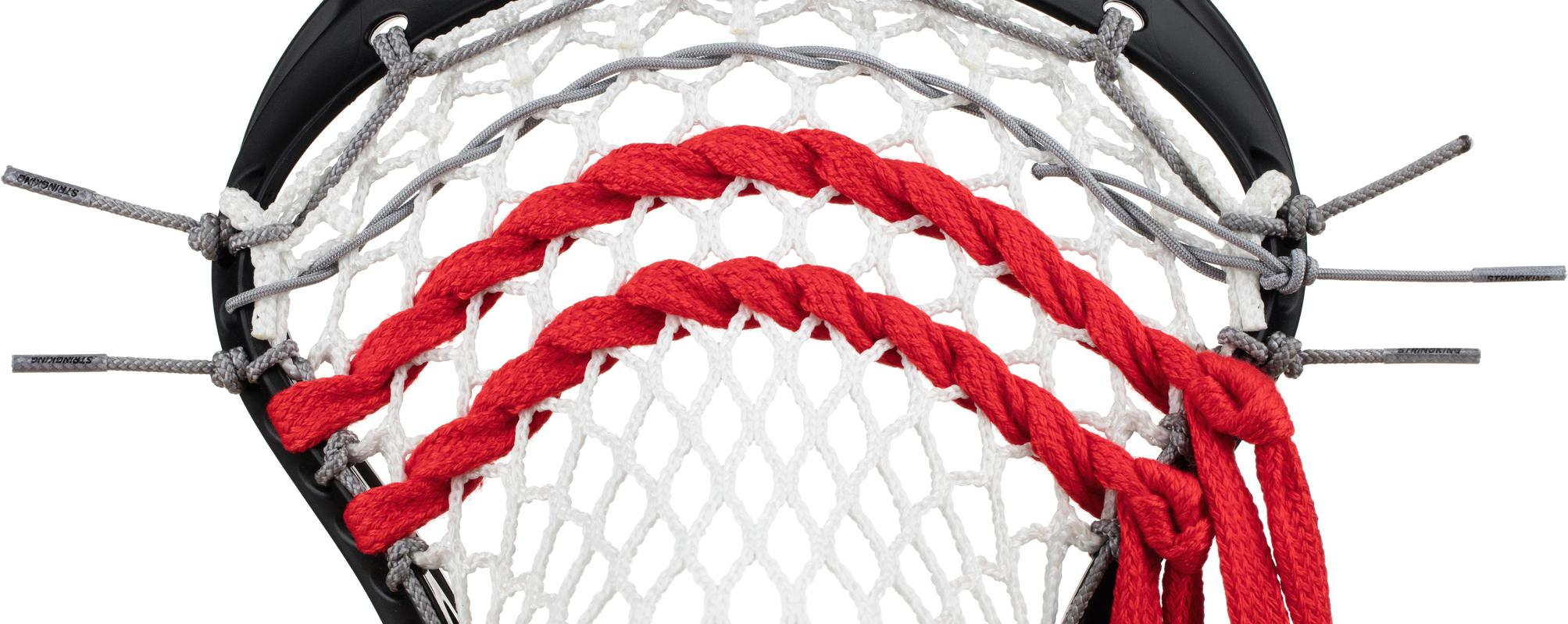 StringKing Lacrosse Mesh Stringing Supplies Shooting Laces Strung Pocket