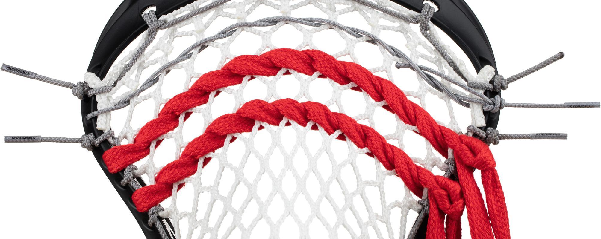 StringKing Lacrosse Mesh Stringing Supplies Shooting Laces Strung Pocket