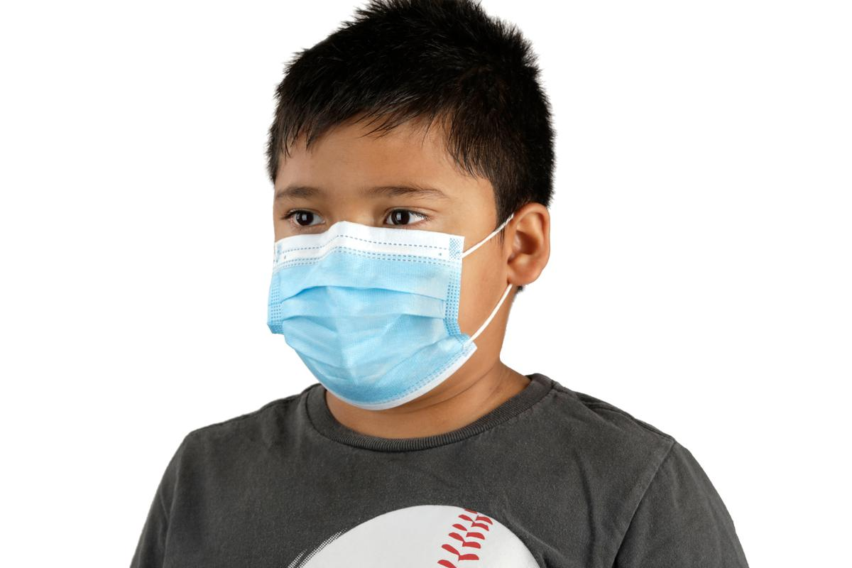 3-Layer Disposable Kids Youth PPE Face Mask