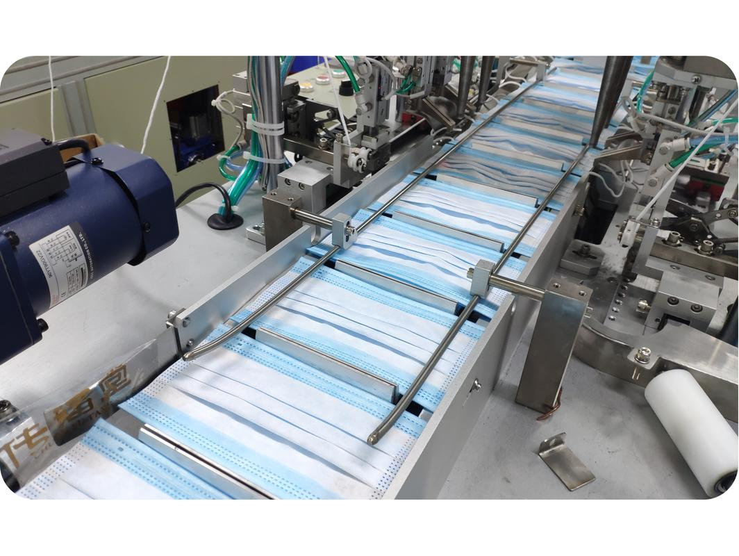 3-Layer Disposable Face Mask How It's Made Our Facility