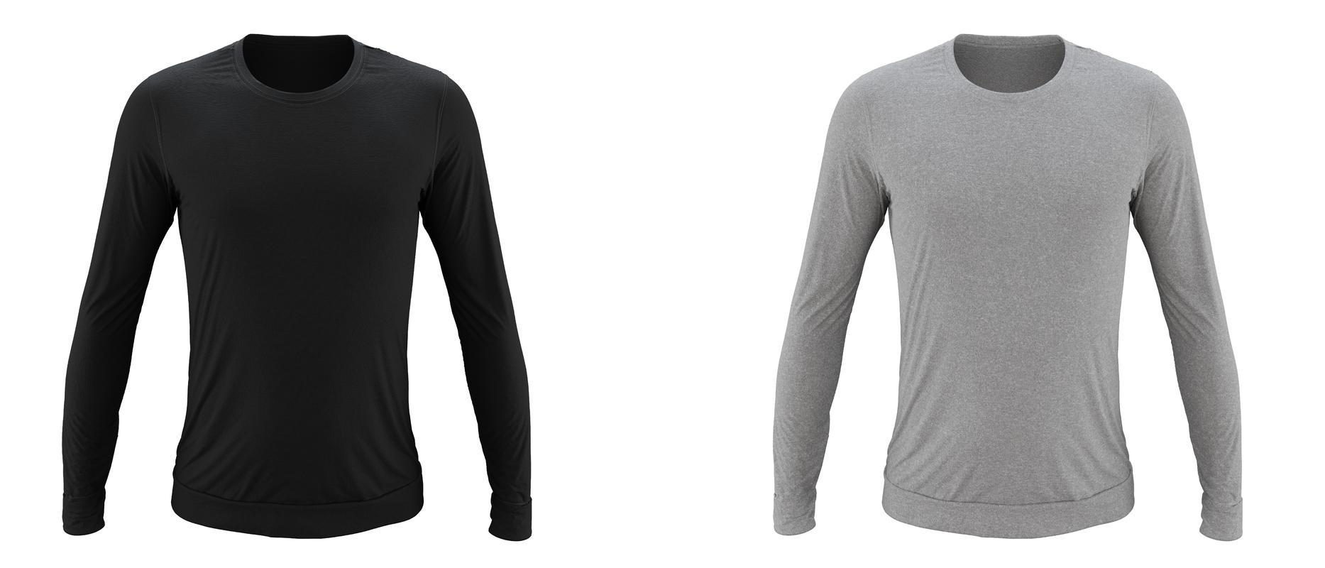 StringKing Apparel Crewneck Sweatshirt Black Heather Gray
