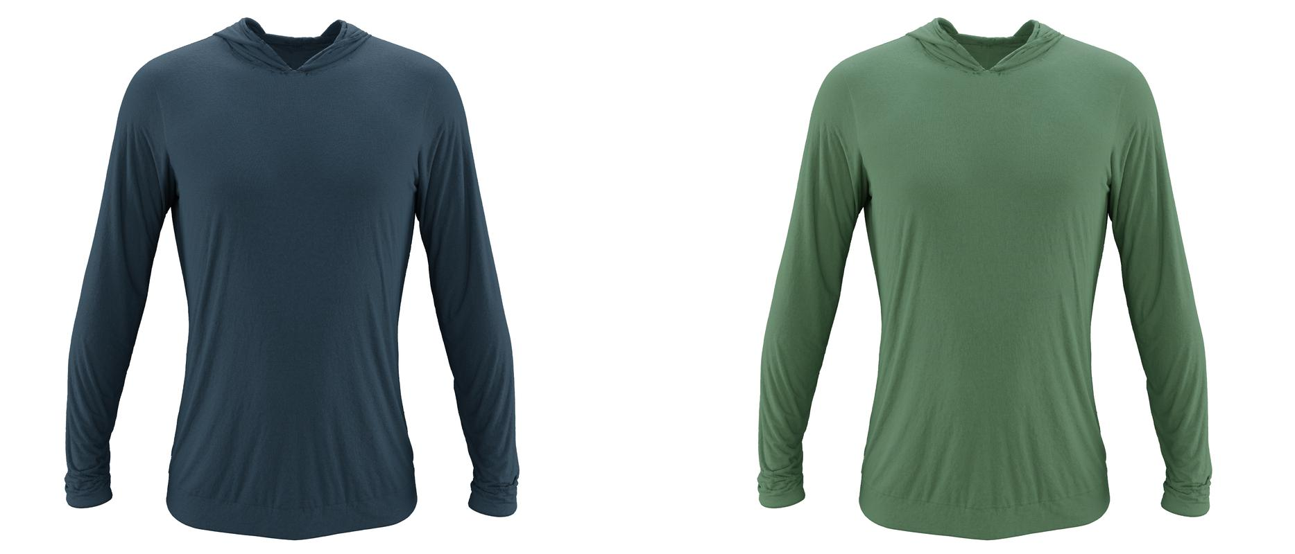 StringKing Apparel Hoodie Category Green Navy