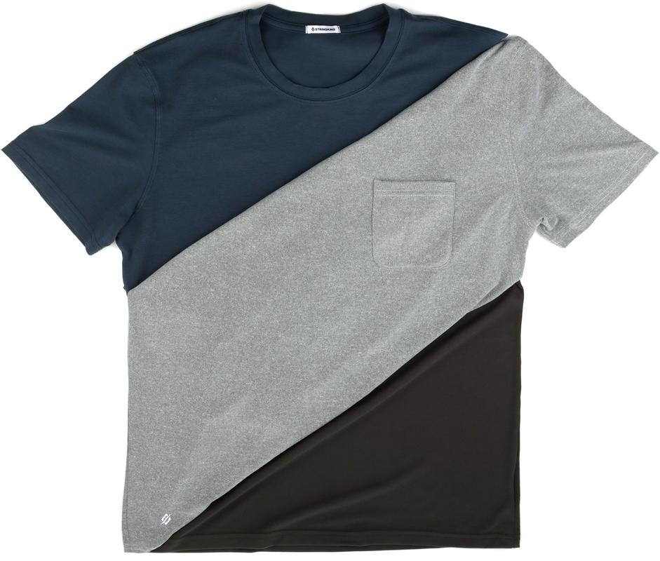 StringKing Custom Fit Apparel Blue Gray Black