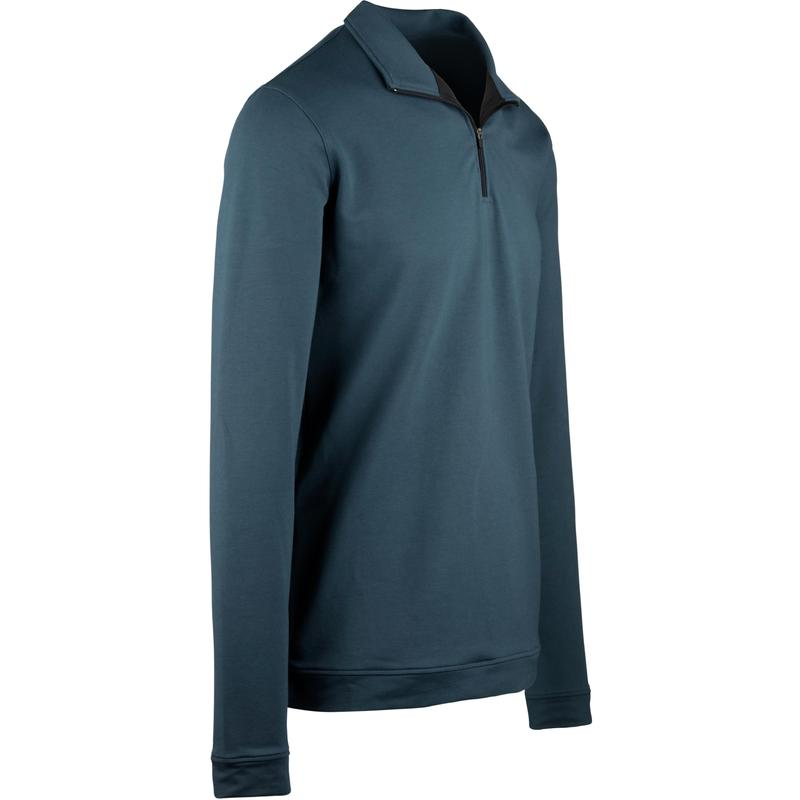 StringKing Apparel Quarter Zip Athletic 2 Light Navy Angle View