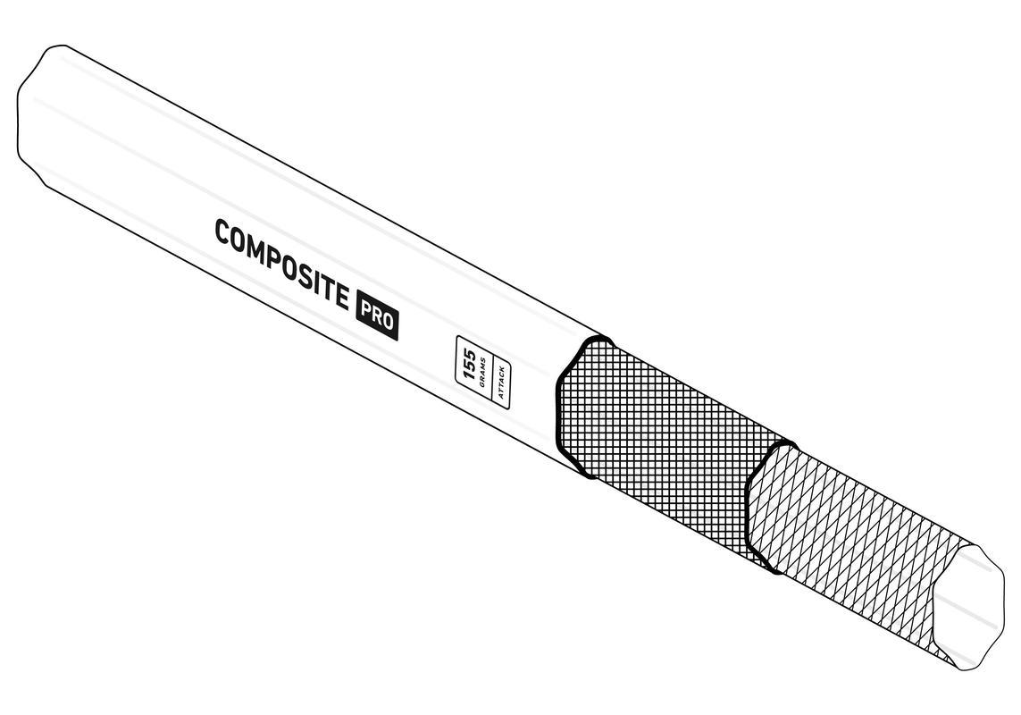 StringKing Composite Pro Lacrosse Shaft Smart Taper Technology Carbon Fiber Construction