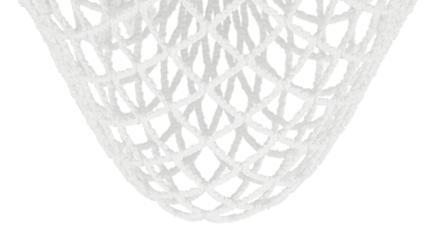 StringKing Grizzly 2 Goalie Mesh Pocket White