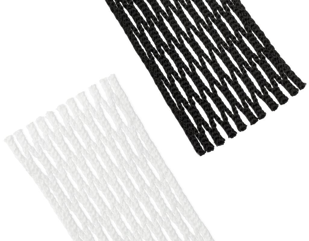 Type 4 Lacrosse Mesh Kit White Black Category Image
