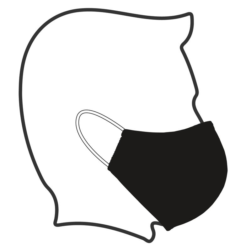 Washable USA Made Cloth Face Mask Wear Instructions
