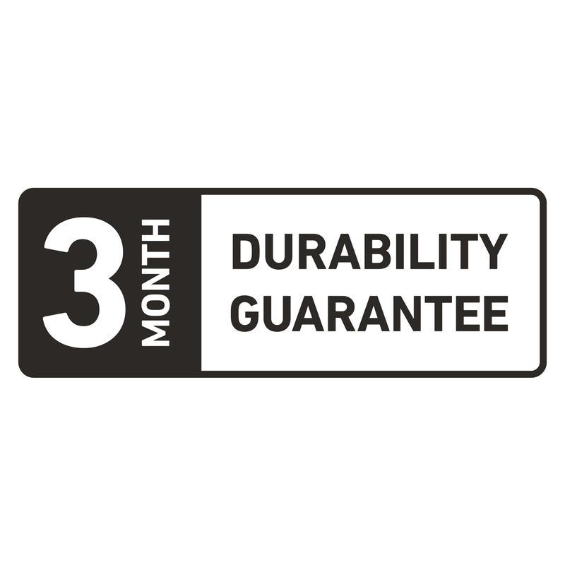 durability guarantee logo