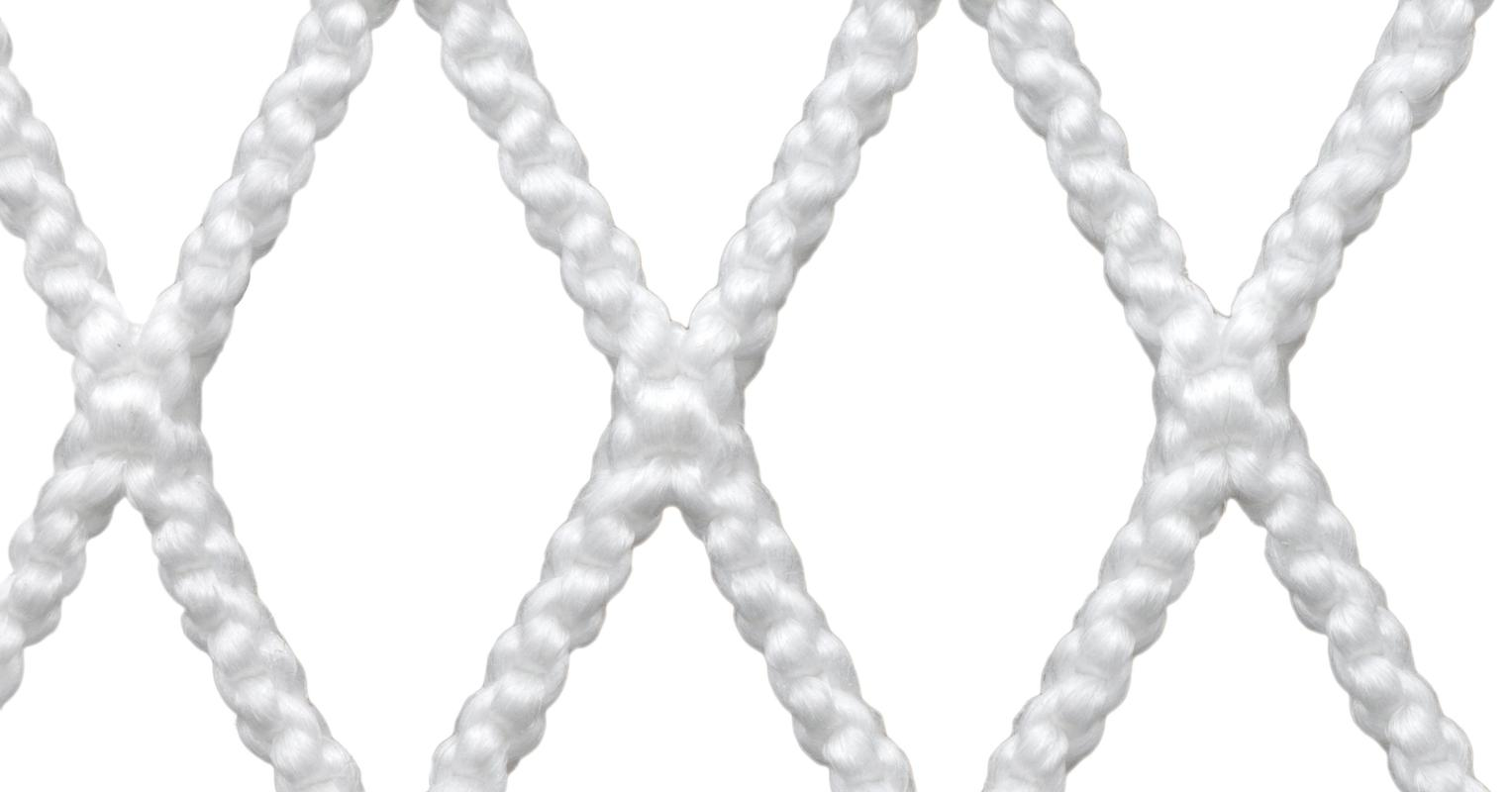 StringKing Grizzly 1 Goalie Lacrosse Mesh Weave Close Up