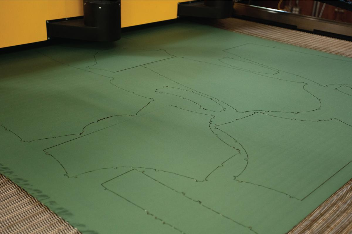 Custom Fit Apparel - Made In the USA - Laser Cutting