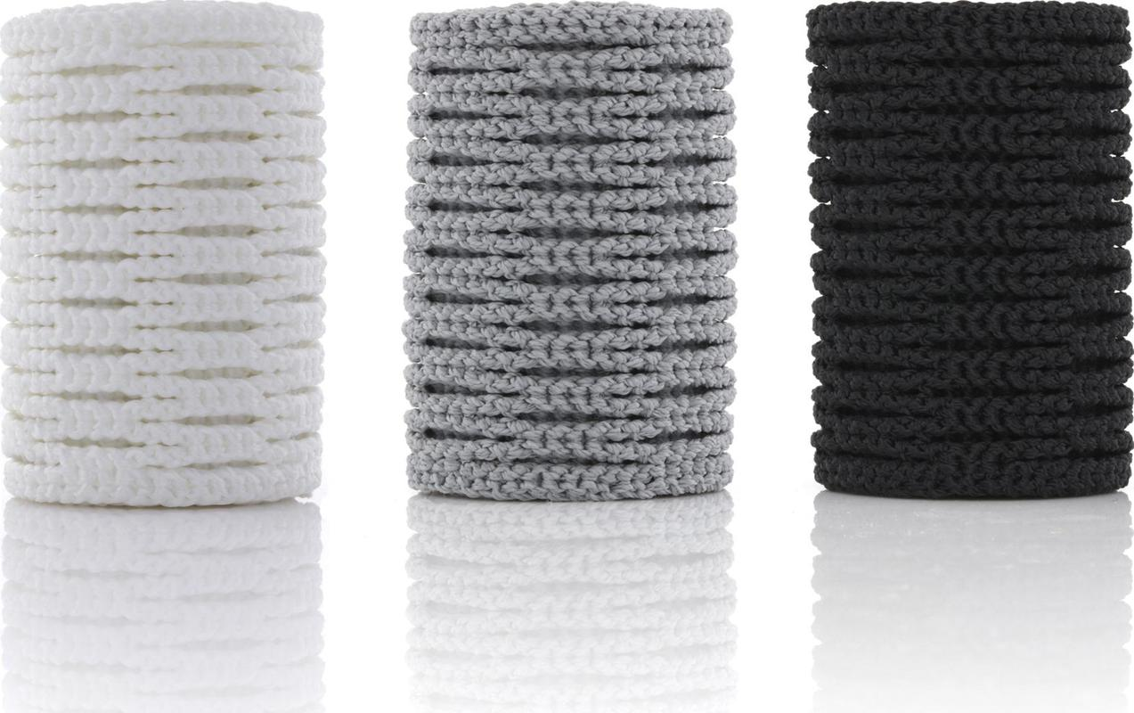 StringKing Type 3 Performance Lacrosse Mesh Color Rolls - White Gray Black